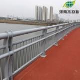 不锈钢栏杆静电氟碳喷涂立柱桥梁防撞护栏