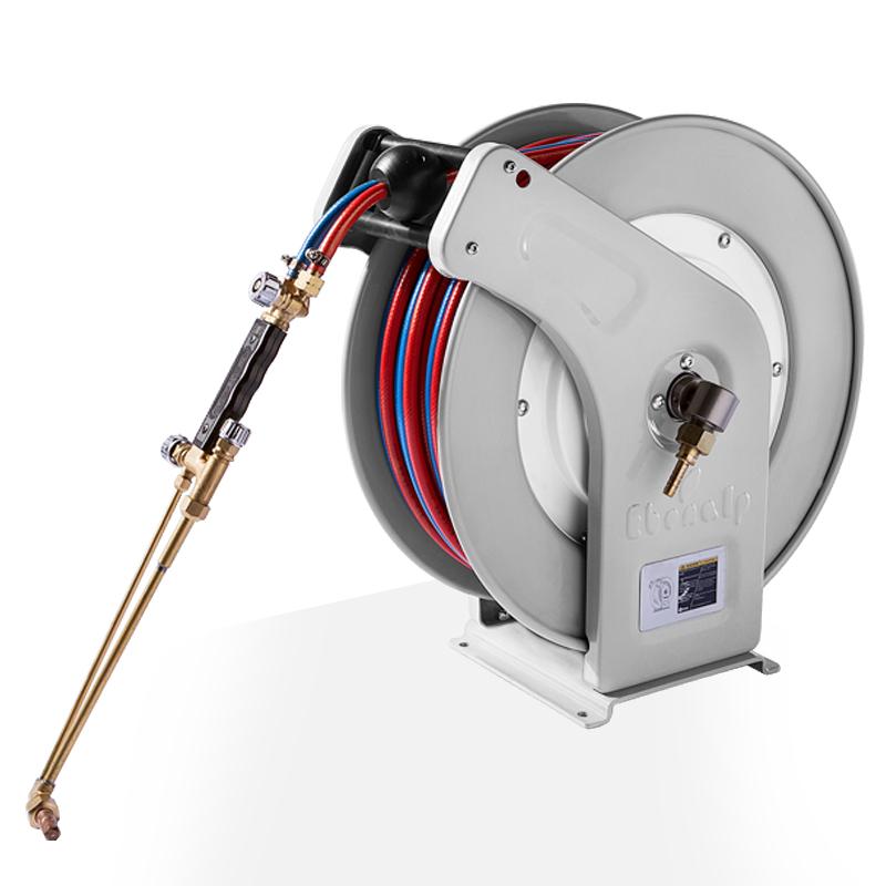 EB460焊接卷管器 并联管卷盘 电焊卷管小车 焊接卷盘厂家 EB460焊接卷管器