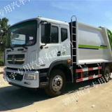 东风多利卡D9压缩式垃圾车总质量18箱体容积14立方新车厂家直销