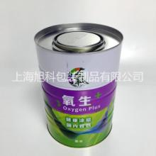 5L涂料桶金属油漆罐定制logo铁桶5kg马口铁防锈化工桶批发