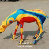 玻璃钢小鹿雕塑 玻璃钢小鹿动物雕塑 玻璃钢仿真雕塑厂家