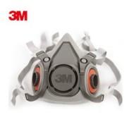 3M6200防毒防尘半面具图片