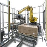 饮料生产线上自动码垛机器人工作站 饮料生产线搬运码垛机器人苏州品超