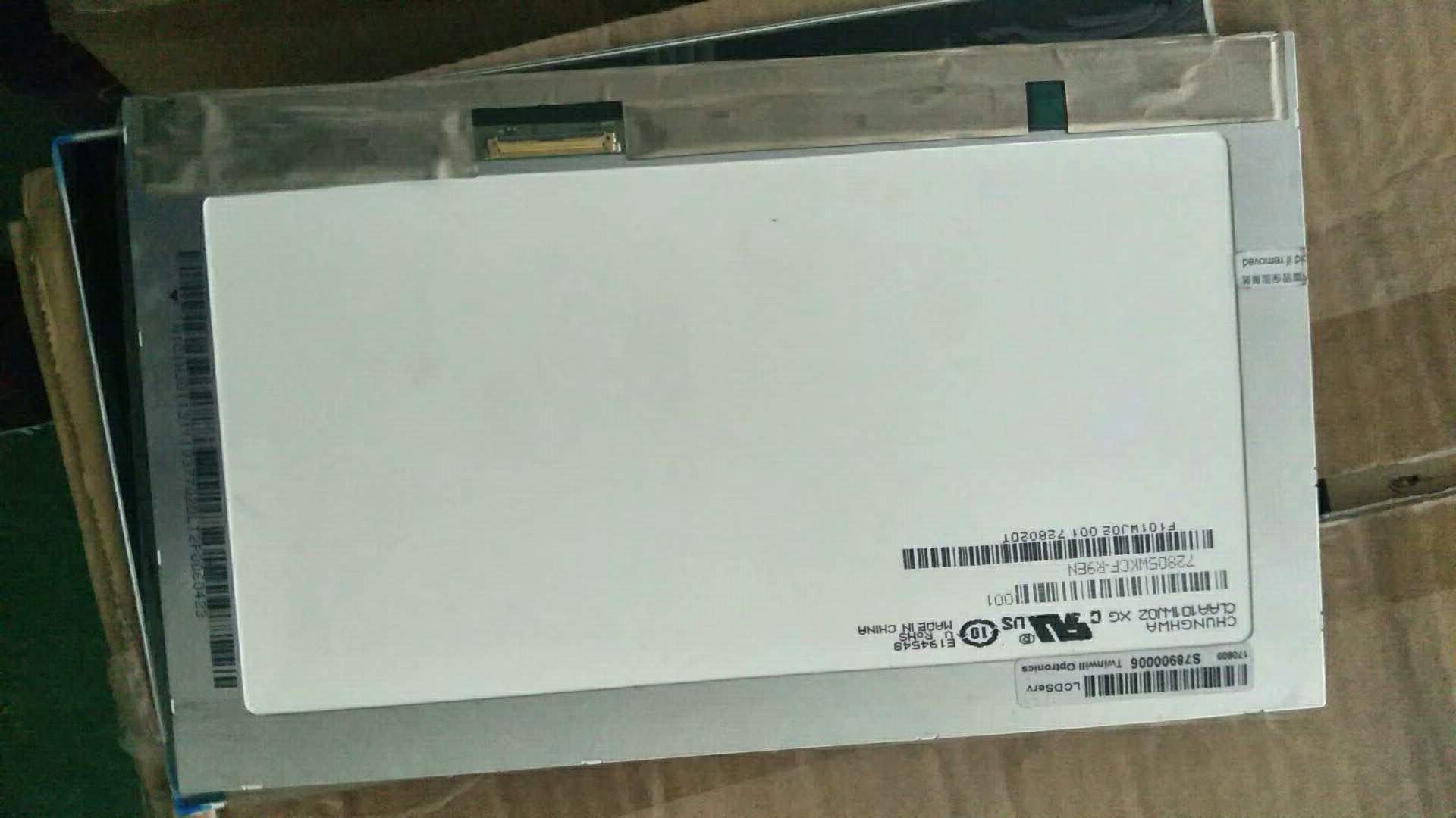 CLAA101WJ0210.1寸车载 ips1366X768 40针液晶