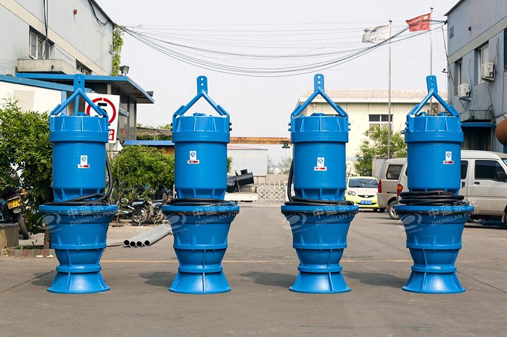 井筒式潜水轴流泵性能 井筒潜水轴流泵 雪橇式轴流泵 潜水式轴流泵