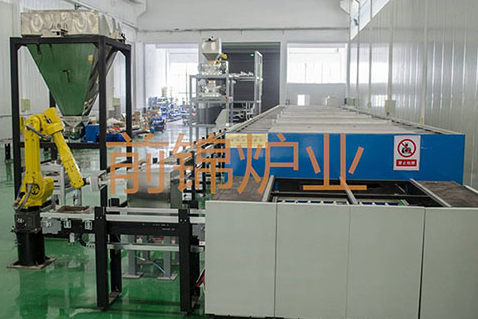 陶瓷专用废气净化炉 1200℃全自动辊道窑