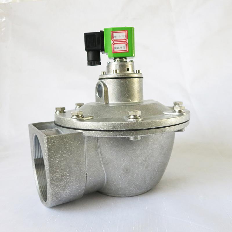 DMF-76S型直角电磁脉冲阀工作原理