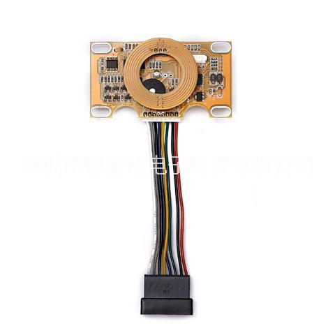 PRAD-普蓝德T5577酒店门锁主板,液晶显示锁电路板,宾馆智能电子锁线路板,智能感应电子锁芯片主板 酒店门锁电路板