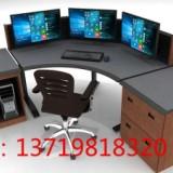 盾山 双联操作台 控制台 演播桌  双联操作台 控制台 演播桌直播桌