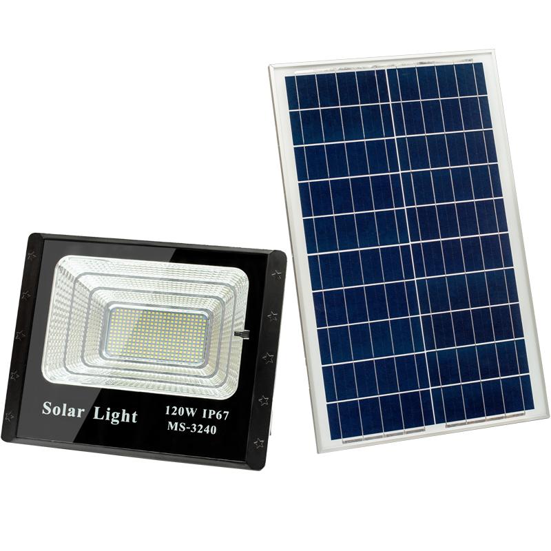 化州路灯LED太阳能投光灯照明