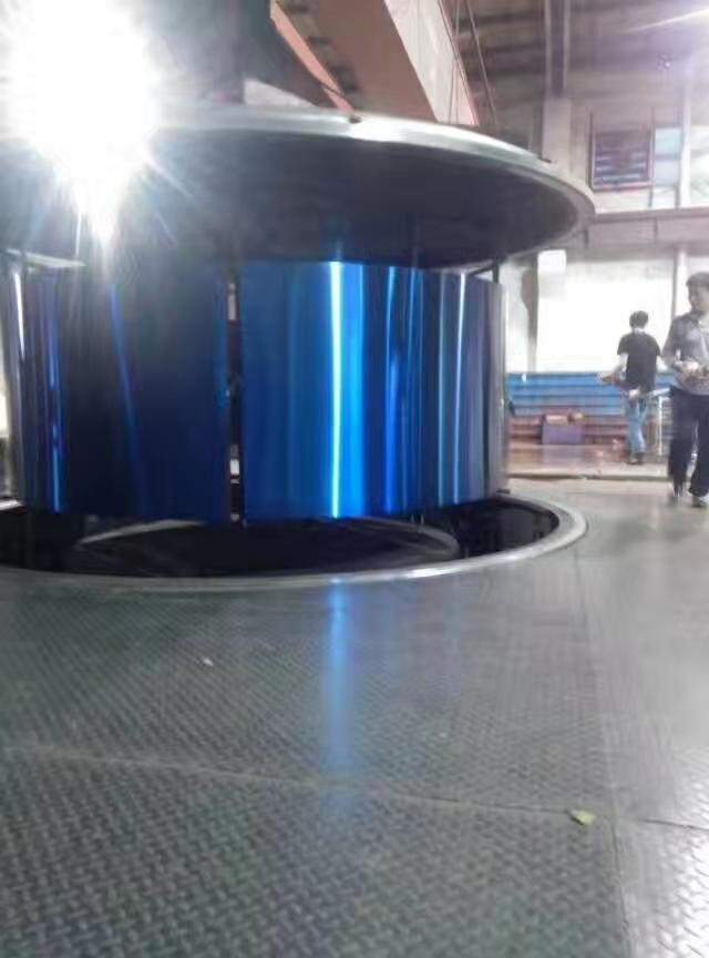佛山剪折刨加工厂家  镜面宝石蓝不锈钢板生产厂家  蓝色镜钢板销售厂家