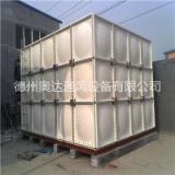抗震耐用矩形钢板水箱专业制造基地