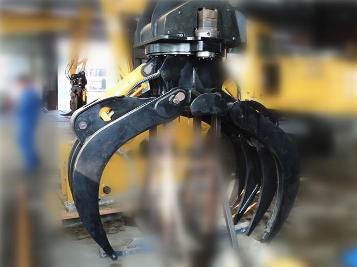邦力ZMQ150型 抓木器 夹木器 林业机械抓取木材 效率高 速度快