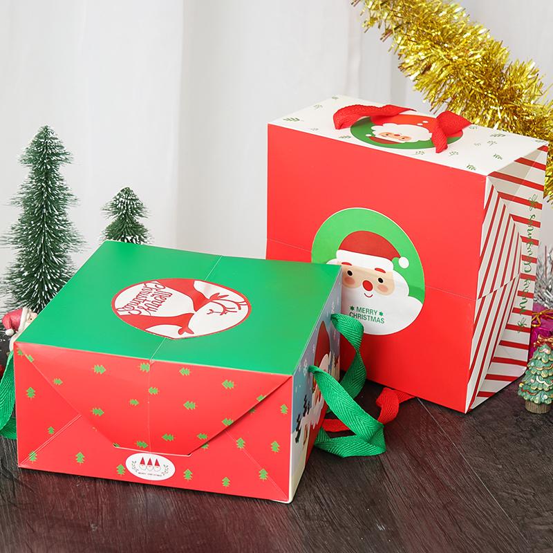 高级圣诞礼品包包装盒厂家批发卡纸包装盒卡通糖果礼品盒现货礼品盒盒定做 包装盒子材料包装盒 礼品包装盒 高级圣诞礼品包装盒