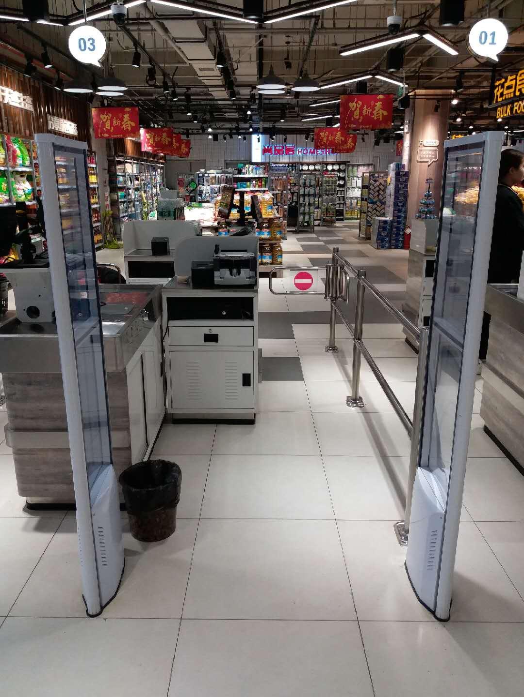 声磁防盗系统解决金属材质的超市防盗系统