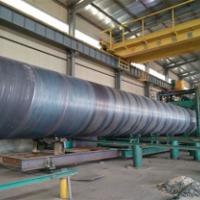 百万工程的选择螺旋钢管厂家 厚壁螺旋钢管
