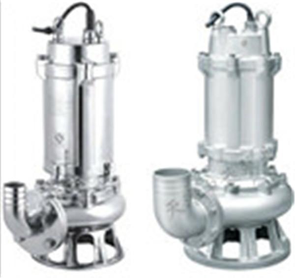 WQ(D全不锈钢污水污物潜水泵