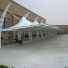 张拉膜车棚厂家 张拉膜景观棚 苏州学校停车棚 苏州市区自行车棚安装