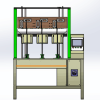 工业机器人柔性电缆扭转试验机图片