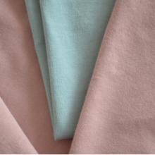 潍坊 40s纯棉有机棉汗布 弹力莱卡棉男女T恤休闲服针织面料