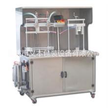 重庆义本包装设备 半自动食用油灌装机采用优质SUS304不锈钢制造 各种液体灌装压盖一体机批发
