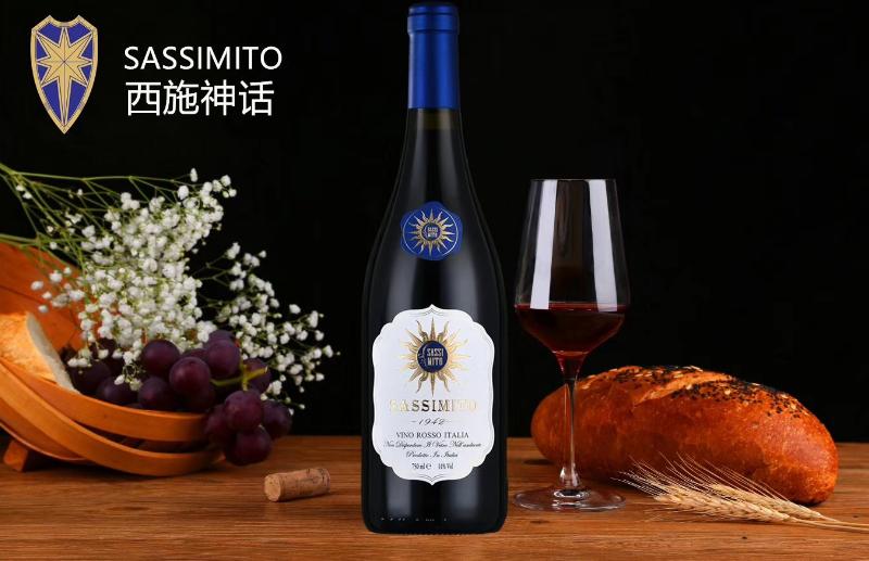 意大利西施神话干红葡萄酒 特莱佳雅酒园红葡萄酒DOC产区