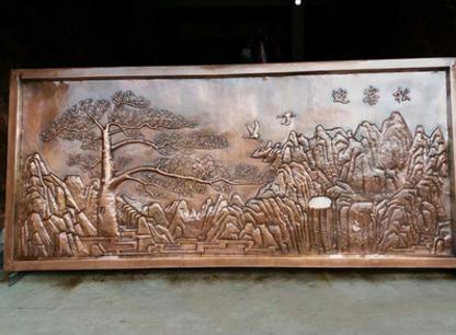 锻铜雕塑浮雕壁画厂家-价格-供应商