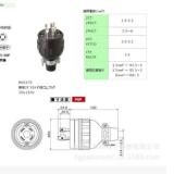 明工社Meikosha原装进口工业插头MH2579 明工社Meikosha电插头插座