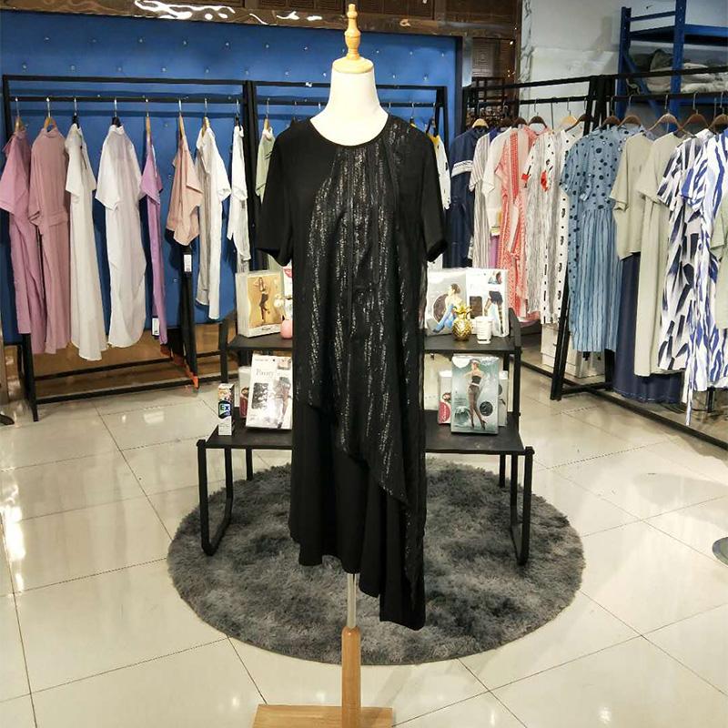 19夏季新品连衣裙套装品牌批发 19夏新品连衣裙套装品牌批发