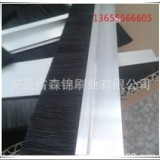 厂家直销条刷 h型铝合金条刷 密封毛刷 防尘条刷 可定制
