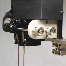 梯形气动胶钉机 小五金背卡固定绑带机 背卡包装机 厂家直销