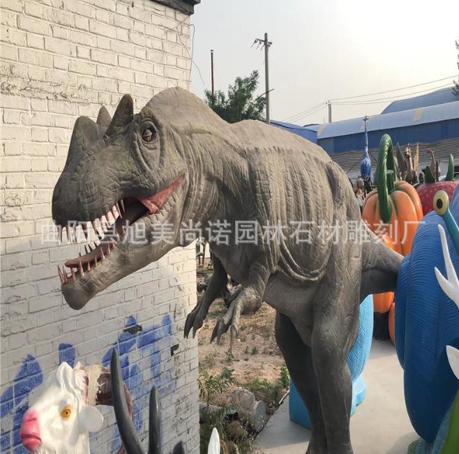 仿真恐龙 软体恐龙雕塑侏罗纪恐龙系列 商场广场游乐园恐龙摆件