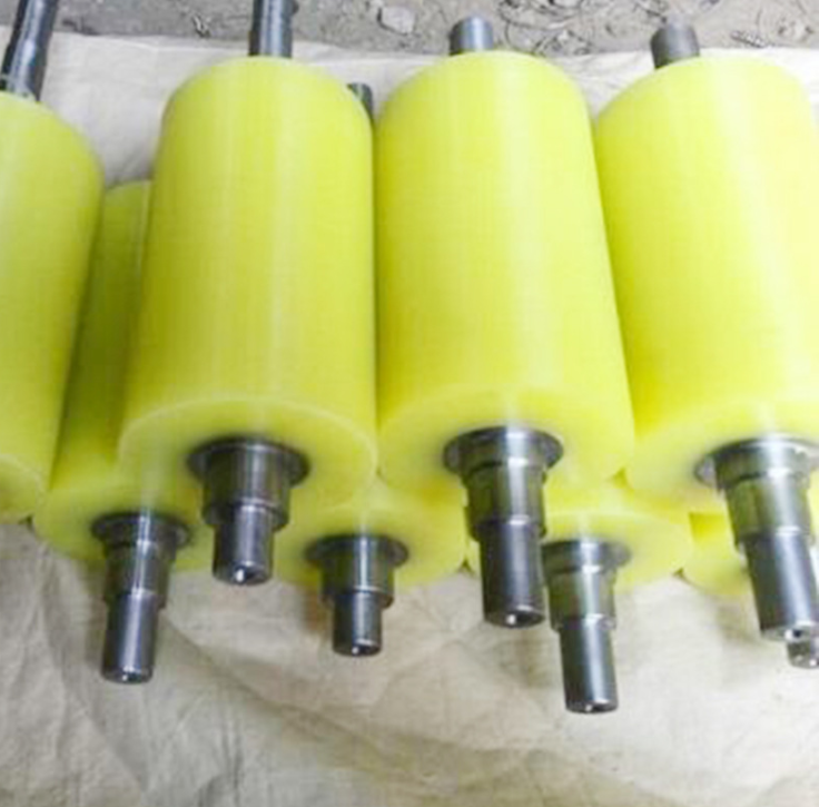 厂家定做印刷橡胶辊 通用型pu胶辊滚轮橡胶辊 旭腾工业印胶辊 工业胶辊