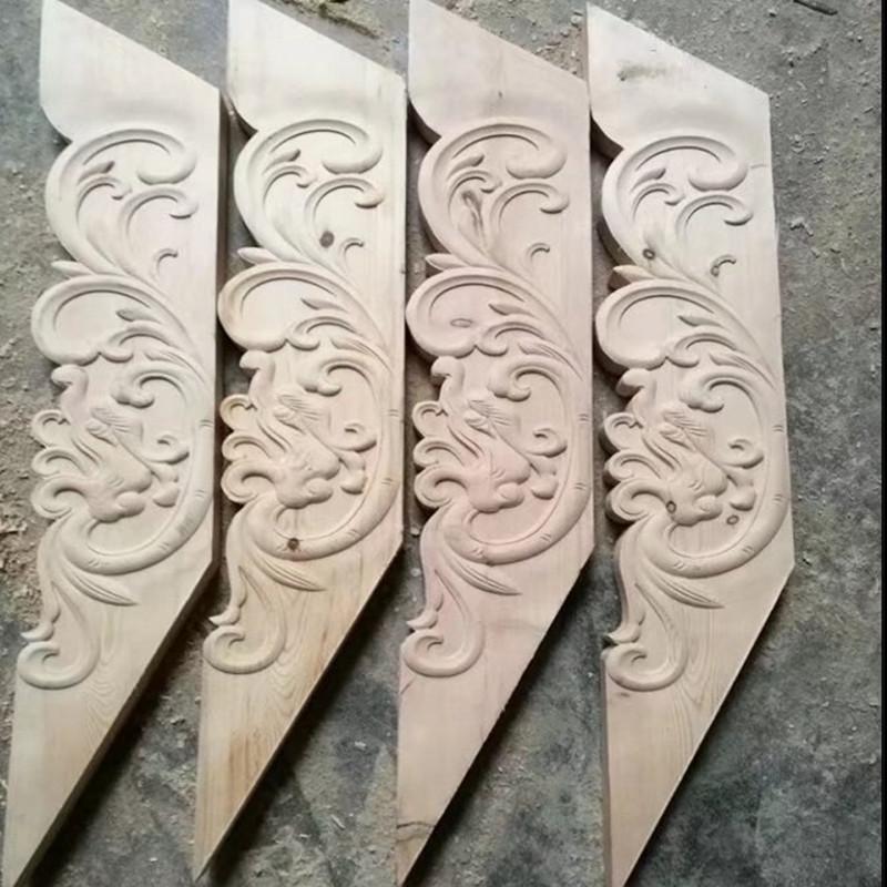 川柏年门窗 雕花 撑弓 吊挂 斜撑 亭子 廊道装饰材料 装饰构件