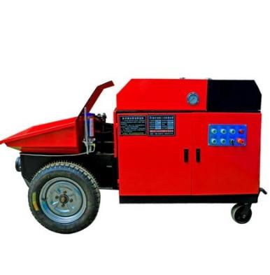 新型模块建房混凝土输送泵
