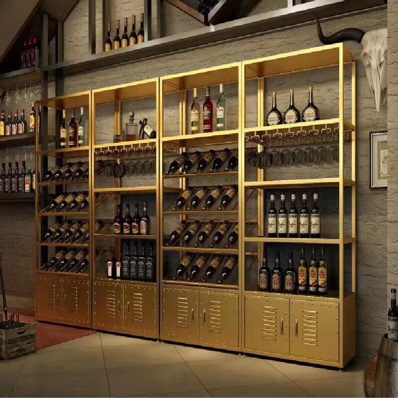 不锈钢酒柜酒架系列厂家-不锈钢酒柜酒架供应-佛山定制酒柜公司
