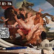 深圳手绘油画装饰图片