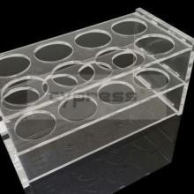 柏丞Cypress  50ml有机玻璃离心管架18孔有机架10孔有机架100ml离心管架