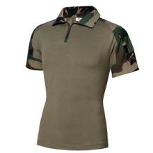 夏季上衣迷彩服户外青蛙套服短袖版蛙服运动迷彩 学生军训服