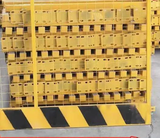工厂定制道路防护栏 基坑隔离 警示防护栏 建筑隔离栏 工地施工隔离栏 安全隔离栏 防护围挡