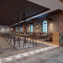 郑州学校食堂装修公司—学校餐厅设计要找专业的装饰公司图片
