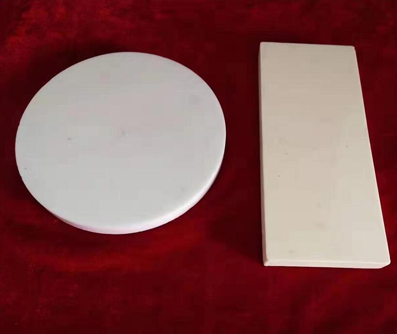 氧化铝陶瓷圆板/氧化铝陶瓷板加工