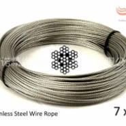 7X7 进口超细不锈钢钢丝绳图片
