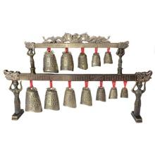 仿古青铜编钟工艺摆件中国民间家居摆件金属工艺品摆件金属工艺品摆件