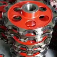 常年专业生产 提升机链轮厂家直销硬度高耐磨损使用寿命长铸钢链轮批发
