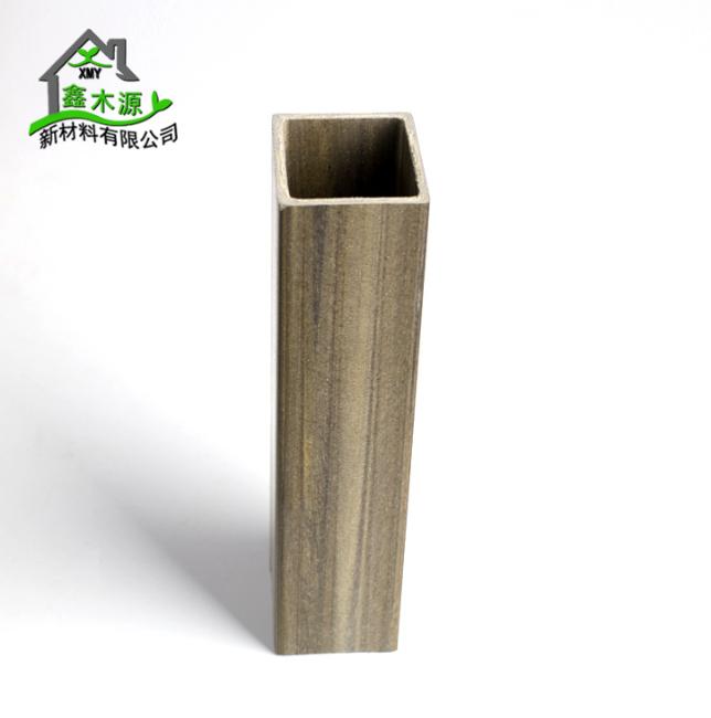 厂家直销生态木方通 室内装修新型装饰材料PVC木塑40*50方木 装修方木