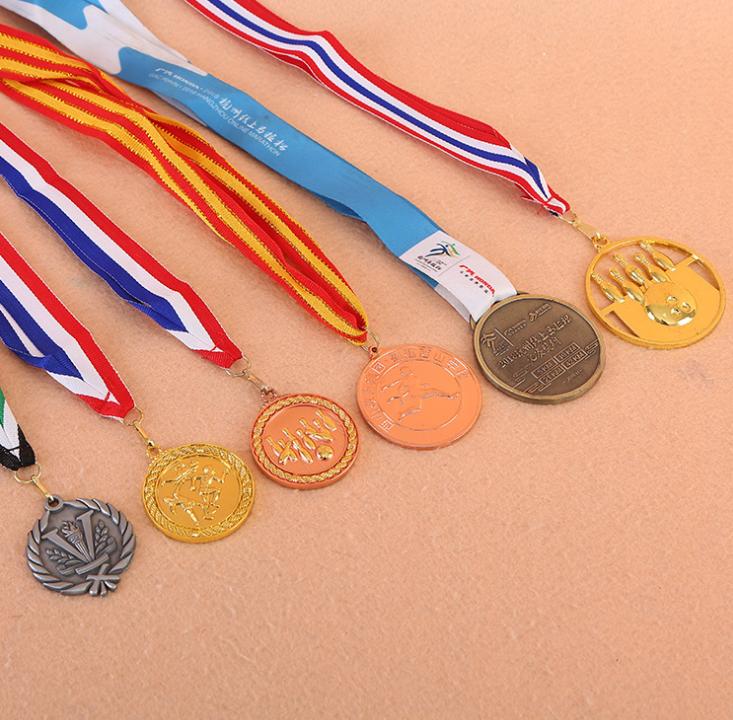 通用奖牌定做马拉松奖牌运动会比赛活动金牌奖章金属奖牌定制logo