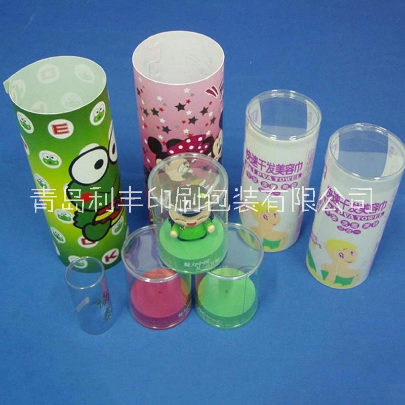 高尔夫圆筒/uv定制印刷/pet印刷塑料圆筒