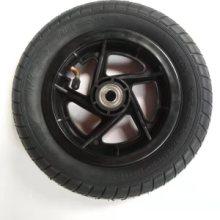 萱德10*2充气轮子 膝盖车轮 四轮车轮 10寸单腿车轮批发