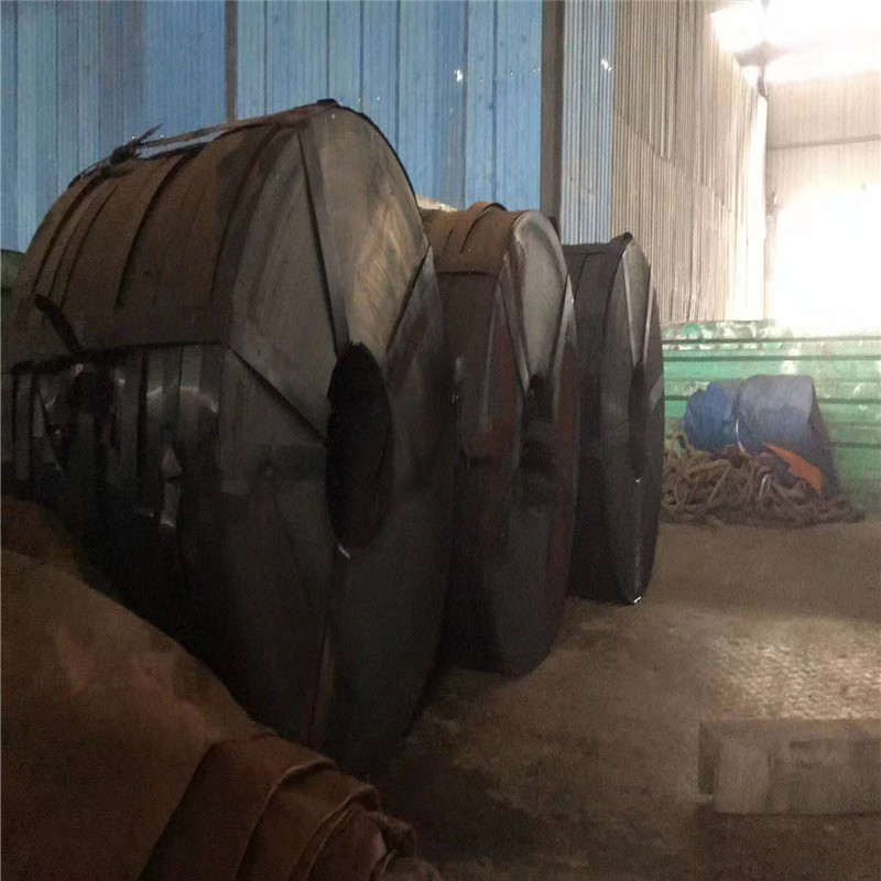 L 生产批发 Q195 供应商 黑退波纹管带钢 金属波纹管钢带 可定做 0.25*36mm  运送到工地